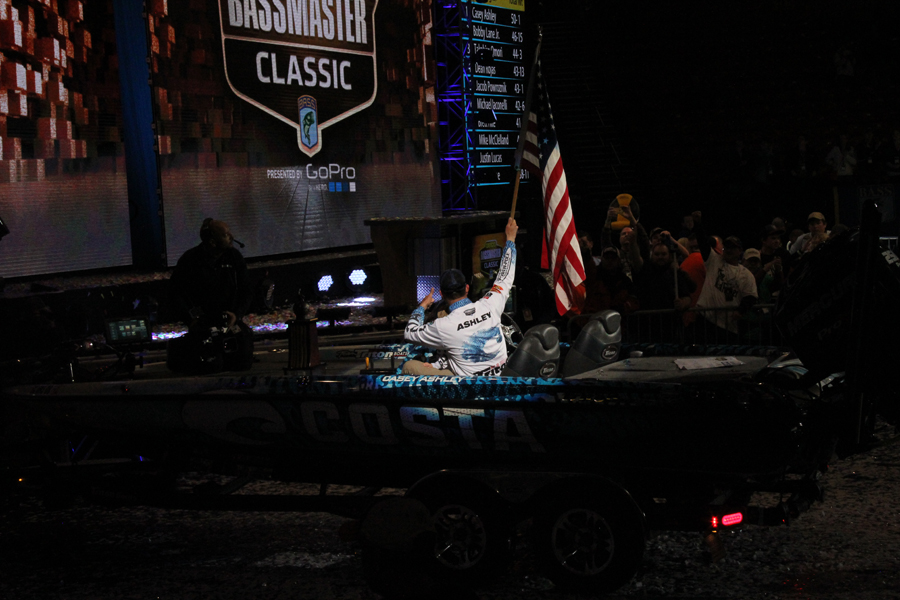 2015 Bassmaster Classic Champion - Casey Ashley