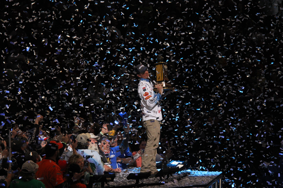 2015 Bassmaster Classic Champion - Casey Ashley