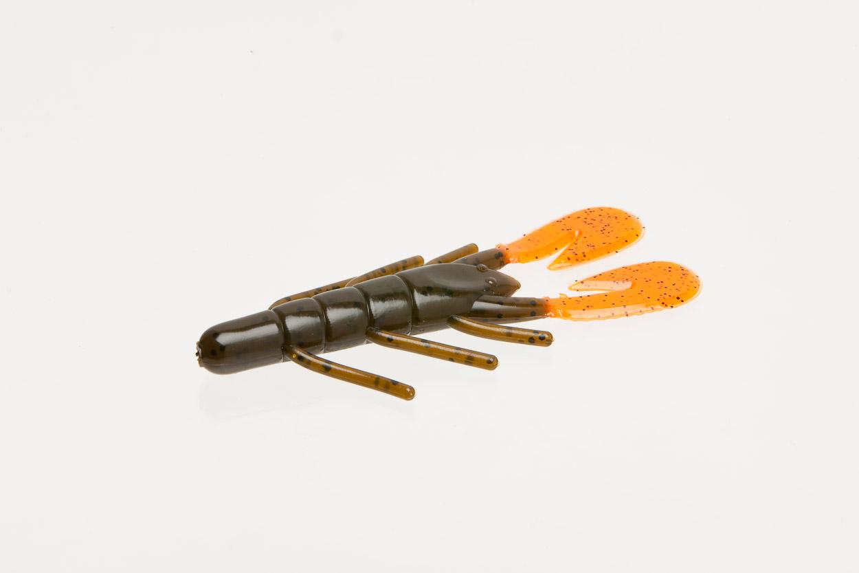 080-132, Ultravibe Speed Craw, Green Pumpkin/Orange Claw