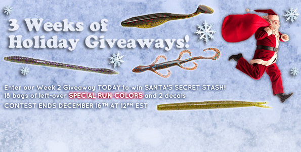 3 Weeks Of Holiday Giveaways with ZOOM Bait: Week 2