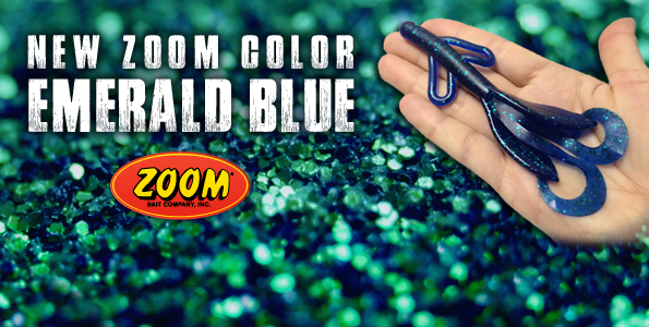 New ZOOM Color: Emerald Blue!