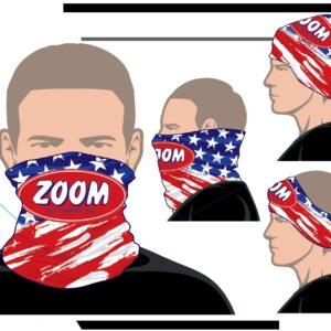 Zoom Neck Gaiter - USA FLAG