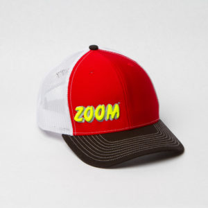 Zoom Bait Hat - Black Red Neon